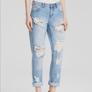 One Teaspoon Awesome Baggies Boyfriend Jeans